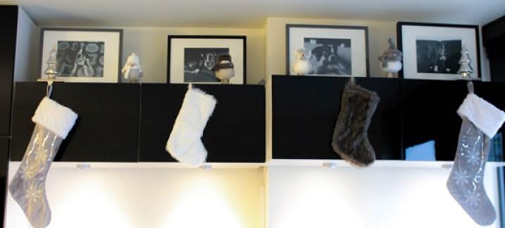 Christmas stocking home decor