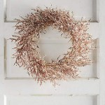 Rose Gold Christmas Wreath- SO Lovely!