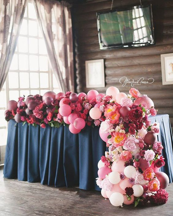 Balloon garland arches our new obsession b lovely