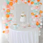 Love this amazing Balloon arch backdrop! - See why they are our new obsession on B. Lovely Events
