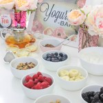 Home Spa Day Tea Party- Yogurt Party- B. Lovely Events