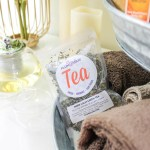 Home Spa Day Tea Party, Inner Calm green Tea- B. Lovely Events