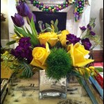 Mardi Gras Centerpiece- See More Mardi Gras Ideas On B. Lovely Events