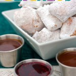 Mardi Gras Party Beignets- See More Mardi Gras Ideas on B. Lovely Events