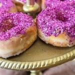 Purple Glitter Mardi Gras Donuts- See More Mardi Gras Ideas On B. Lovely Events