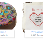 Zazzle custom desserts for Valentines day!