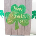 DIY Happy St. Patrick's Day Sign- B. Lovely Events