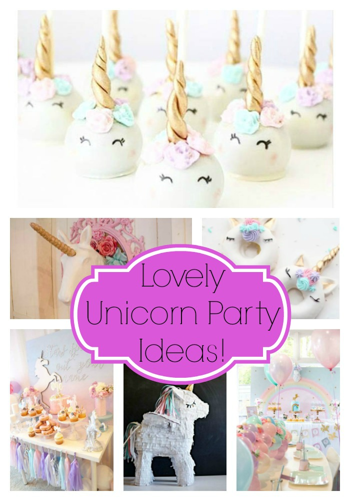 lovely unicorn party ideas   b lovely events
