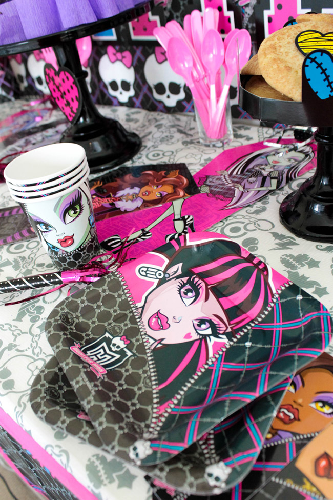 Monster High Party Goodies- So Cute! - See More Party Details On B. Lovely Events