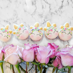 Unicorn Party Macaroons- See more lovely Unicorn Party ideas on B. Lovely Events