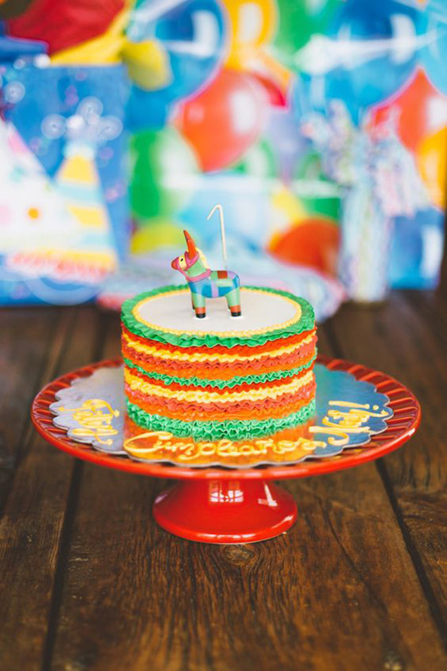 Adorable Little fiesta cake- See more fiesta cake ideas on B. Lovely Events