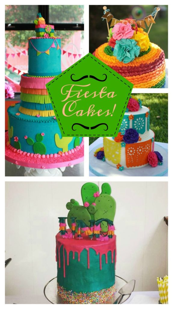 The Most Lovely Fiesta Cake Ideas! See them all on B. Lovely Events