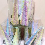 Iridescent holographic Party unicorn hats! - See more iridescent hologram party ideas on B. Lovely Events