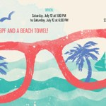 Summer Pool party invitation- Evite