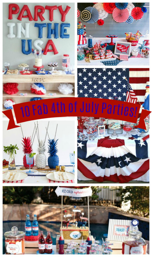 10 amazing 4th of July parties! _ See them all on B. Lovely Events