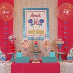 Candy themed GIrls birthday party
