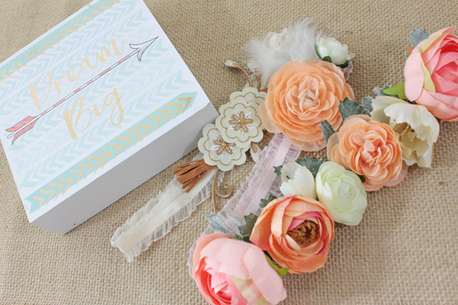DIY BOHO Headbands - Learn how to make these lovelies on B. Lovely Events