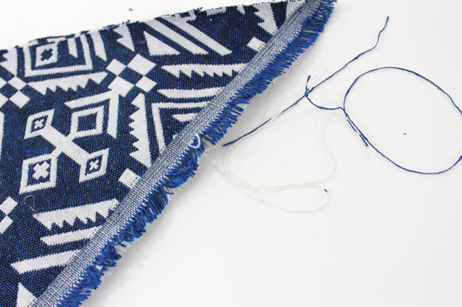 DIY no sew Boho Baby Bibs- Learn how to make this cutie on B. Lovely Events
