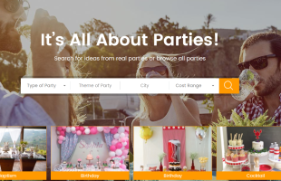 A New Inspiring Party Site- Paarteez.com!