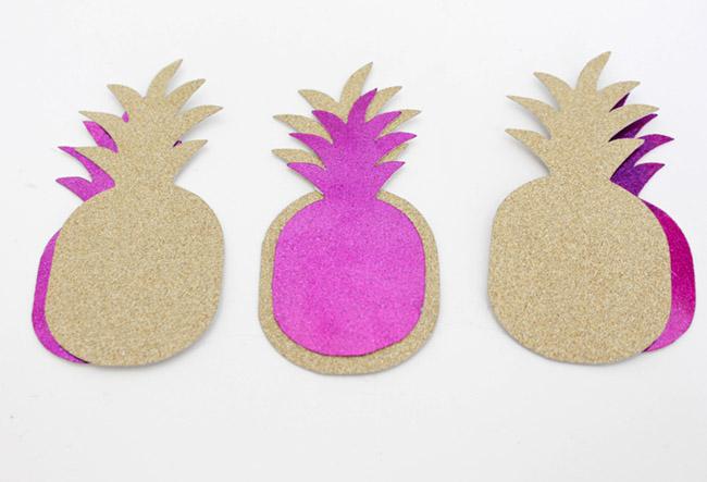 DIY pineapples