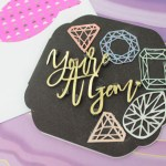 Make your own Youre a gem card! -See how on B. lovely Events