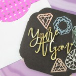 Make your own Youre a gem card! - See how on B. Lovely Events