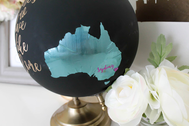 DIY Australian Home Decor- There is No place like home -See how to make this and more on B. Lovely Events