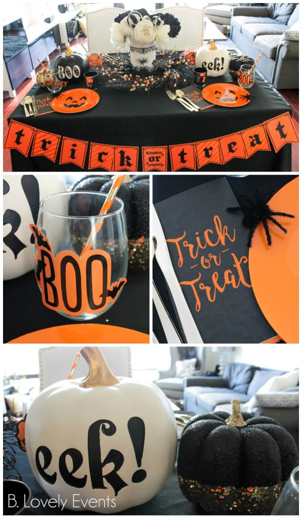 Fun And Sophisticated Halloween Tablescape-B. Lovely Events