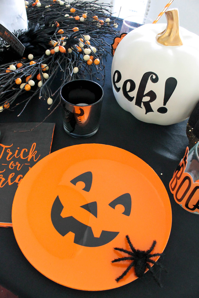 Love this Halloween Table! - See All Of The Lovely Details On B. Lovely Events
