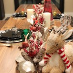 Rustic Winter Christmas Tablescape