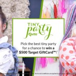 EVITE® TINY PARTY HOLIDAY SWEEPSTAKES