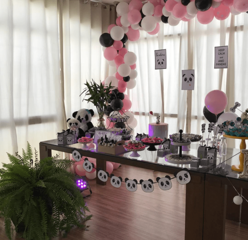 pink panda party -See more Panda Party ideas on B. Lovely Events