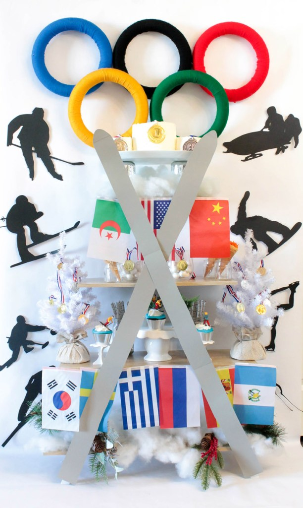 Winter Olympic Party - B. Lovely Events