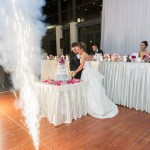 {Real Wedding}  Katrina & Leigh's Gorgeous Firework Wedding