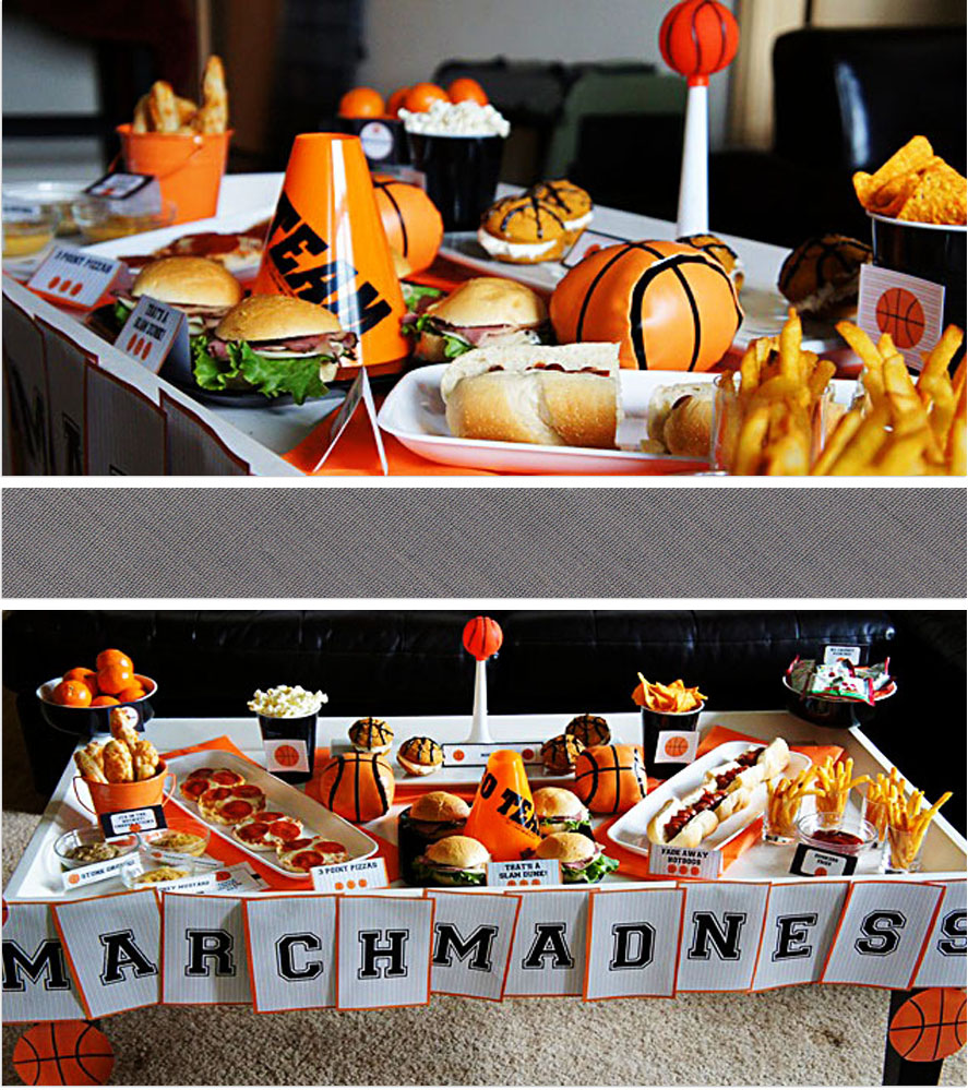 March Madness Basketball Party B Lovely Events