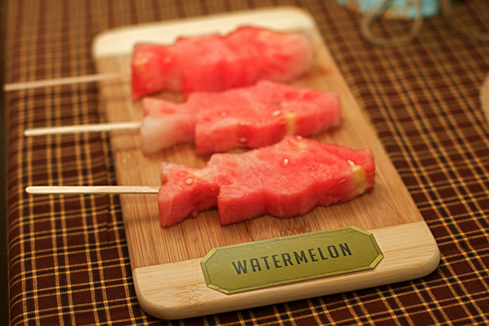 Watermelon Fish Pops perfect for a summer pool and beach party