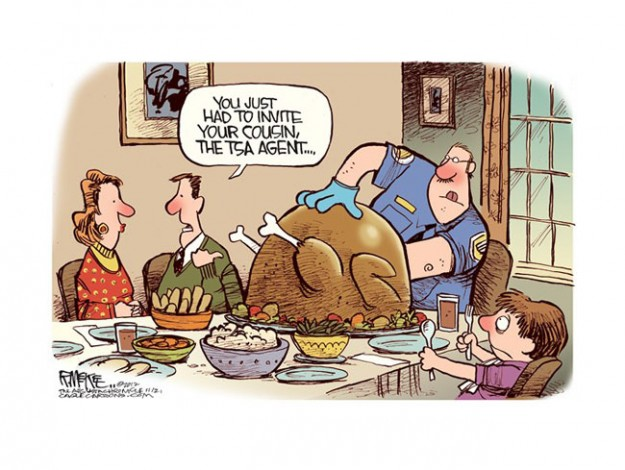 Thanksgiving Cartoons Bloviating Zeppelin