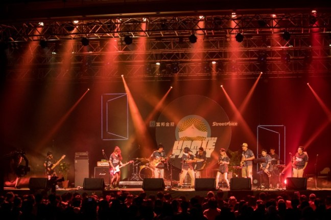 P!SCO 與 BWOC在「HOMIE PARTY 音樂日」擔任開場演出,活力十足的11人大編制嗨翻全場。
