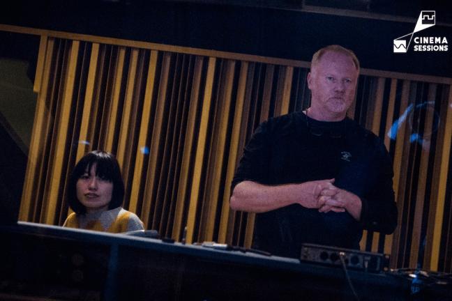 CINEMA SESSIONS 音樂總監 Andy Baker 與導演 Alulu(CINEMA SESSIONS提供)