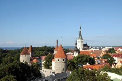 Tallinn from Toompea Hill