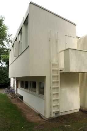 Alvar Aalto Studio, exterior view