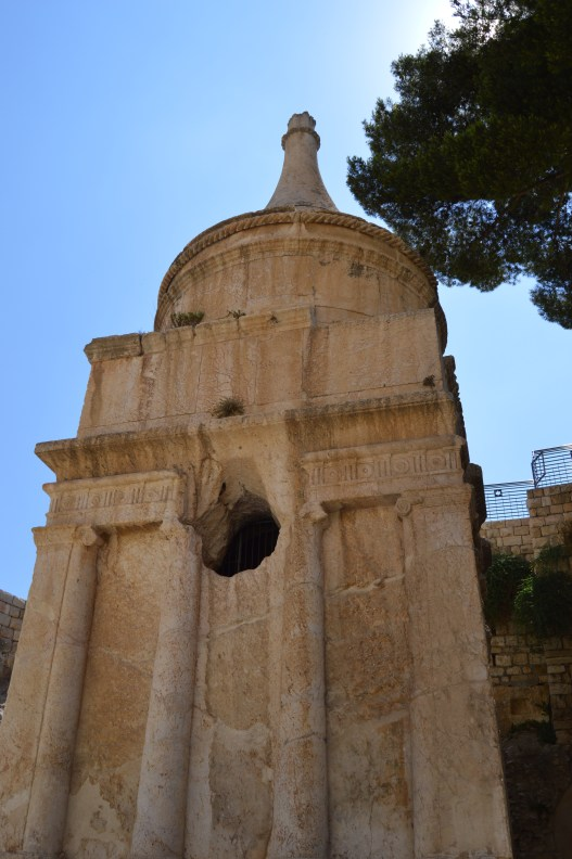 "This tomb is ""Absalom's Pillar."""