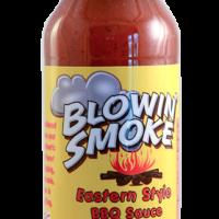 Blowin' Smoke Eastern Style BBQ Sauce (12 Oz Bottle) | North Carolina's Blowin' Smoke BBQ Sauce