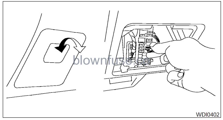 Nissan Altima Passenger Fuse Diagram