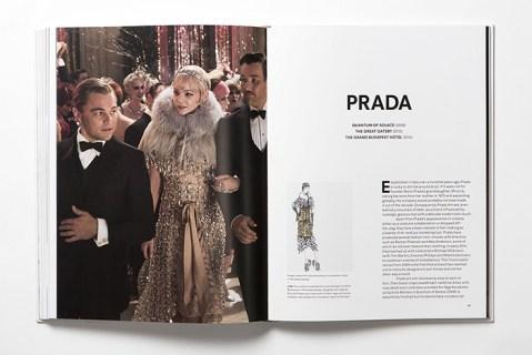 """Páginas dedicadas a la firma Prada en """"Fashion in Film""""."""