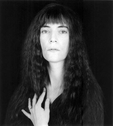 Patti Smith, intima amiga de Robert Mapplethorpe, fotografiada como Durero en 1989.