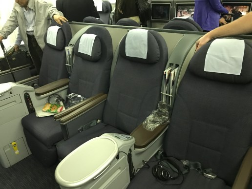 """Business"" Class Seats IAD-SFO"