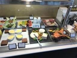 Star Alliance First Class Food Spread