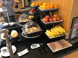 United Airlines Arrivals Lounge SFO Food Options