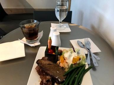 American International First Class Dining DFW